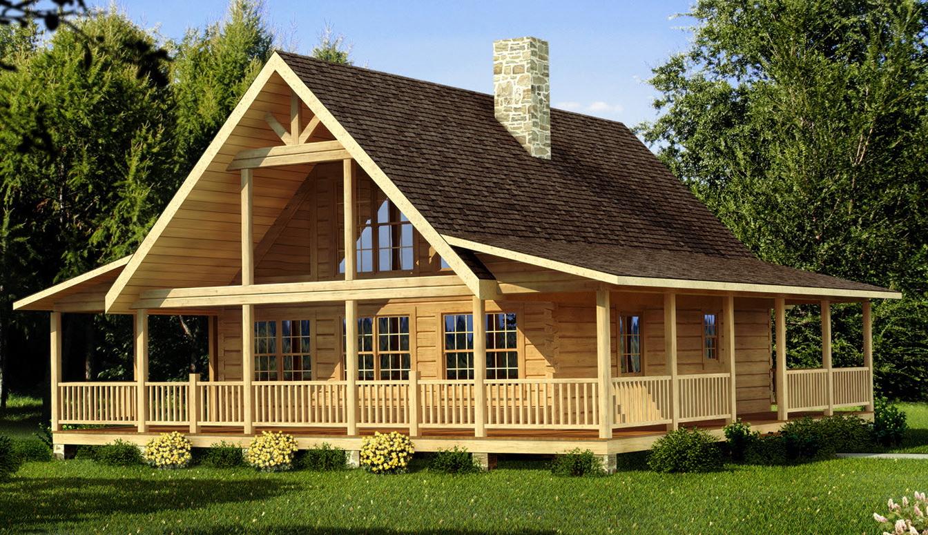Log Home Floor Plans With Wrap Around Porch | Home Design Ideas