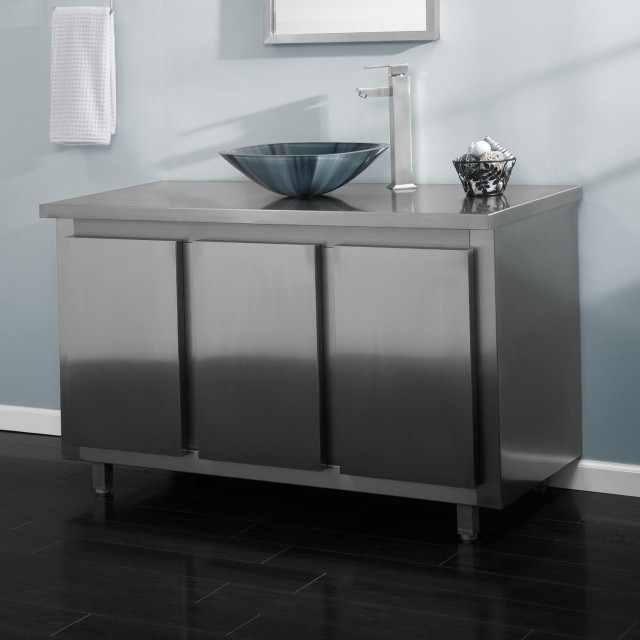 Metal Bathroom Vanity Tops