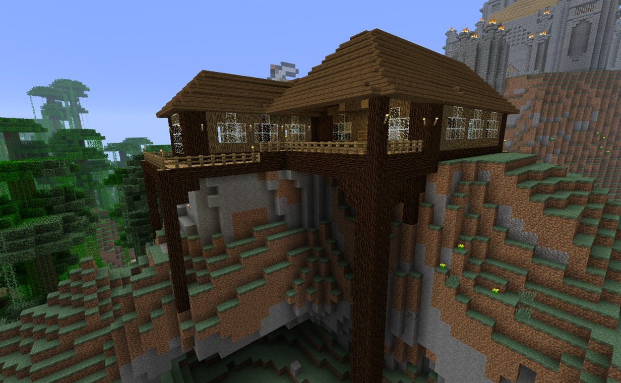 Minecraft Porch Ideas