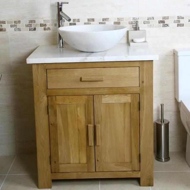 Oak Bathroom Vanity Units