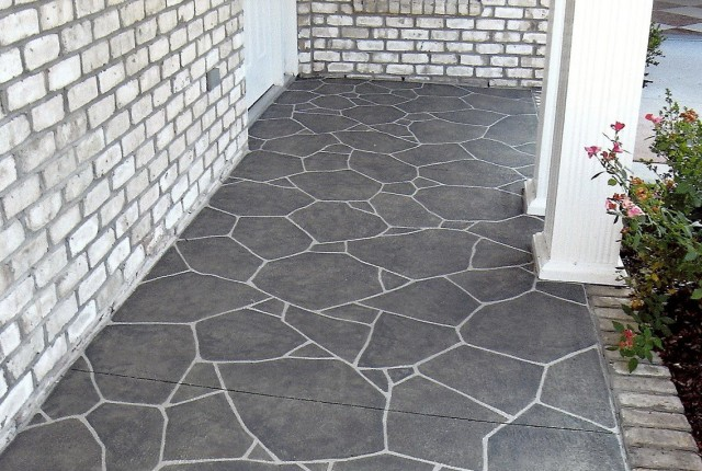 Painting A Concrete Porch Floor