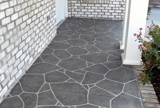Painting A Concrete Porch Floor