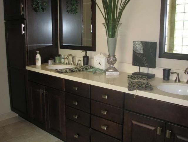 Painting Bathroom Vanity Espresso