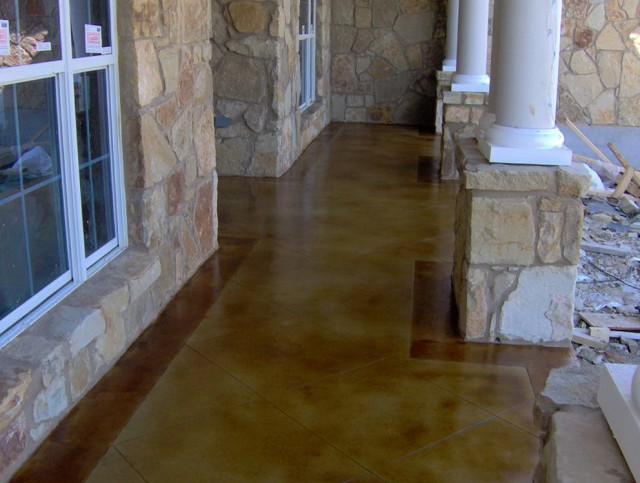Painting Front Porch Concrete Floor