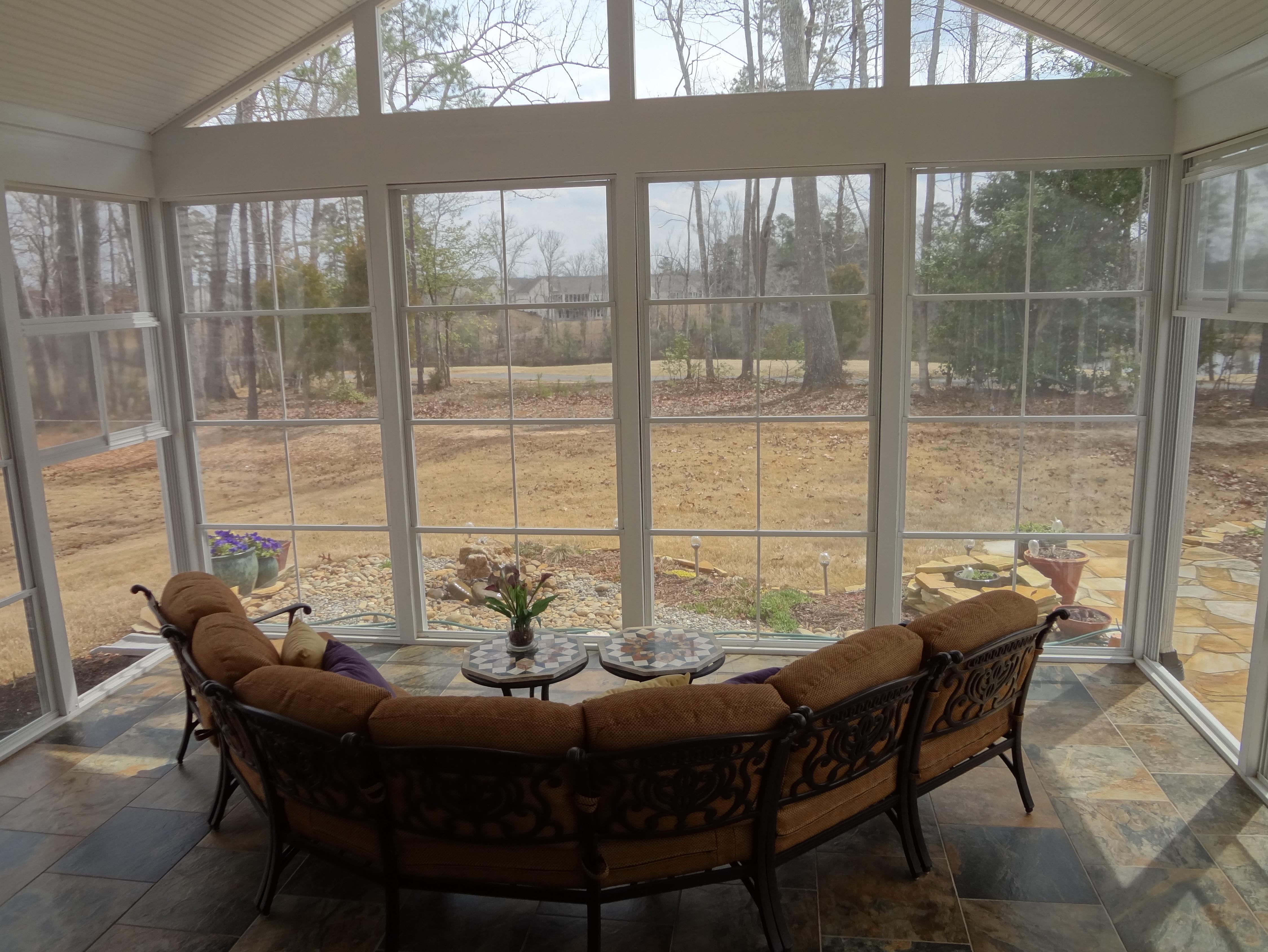 Plexiglass Windows Screened Porch Home Design Ideas