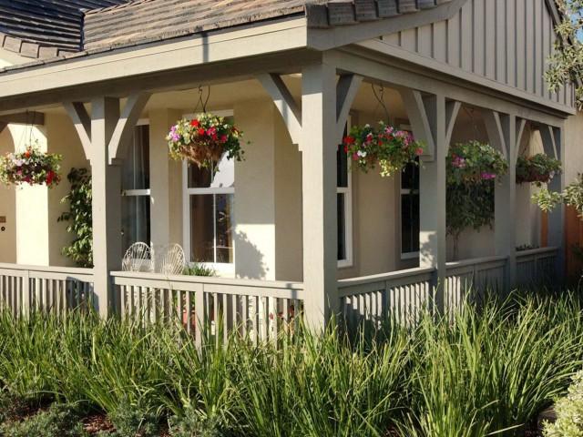 Raised Bungalow Front Porch Ideas