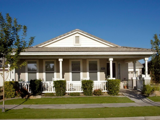 Ranch Style House With Porch
