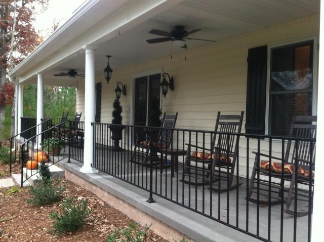 Rod Iron Railing For Porch