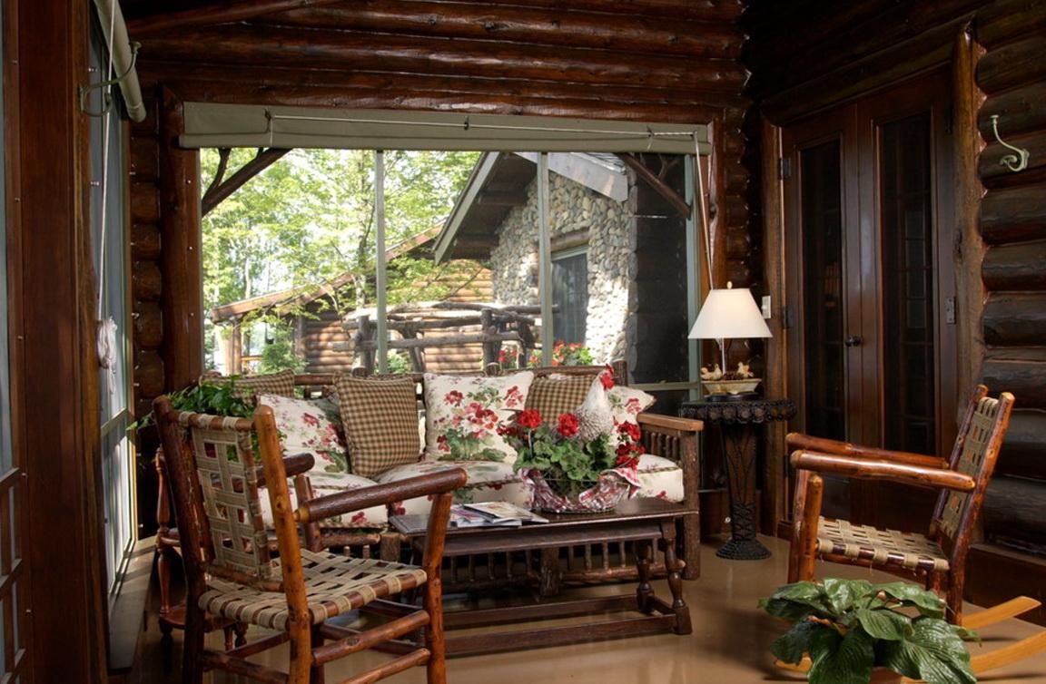 Rustic cabin decor ideas rustic cabin interior design for Log cabin decor