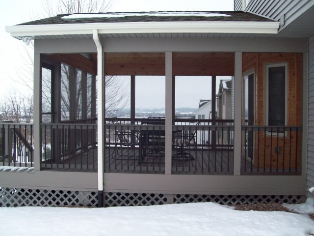 Screen Porch Design Plans