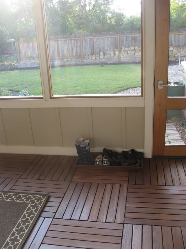 Screened In Porch Flooring Options