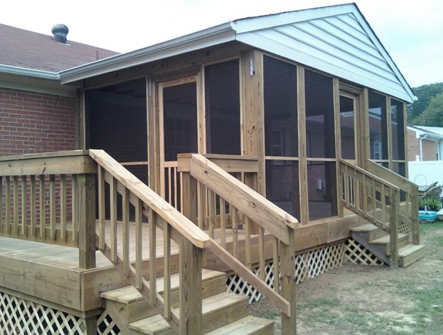 Screened In Porch Kits Lowes Home Design Ideas