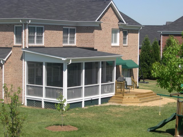 Shed Roof Porch Plans