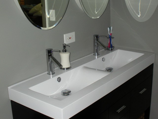Small Double Vanity Sinks
