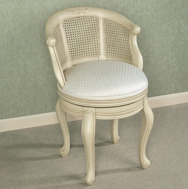 vanity chair with back and casters. Great Bathroom Vanity Stool With Casters Chair Back And Flare Powder Finish  Swivel Axiomseducation com Home Design Plan
