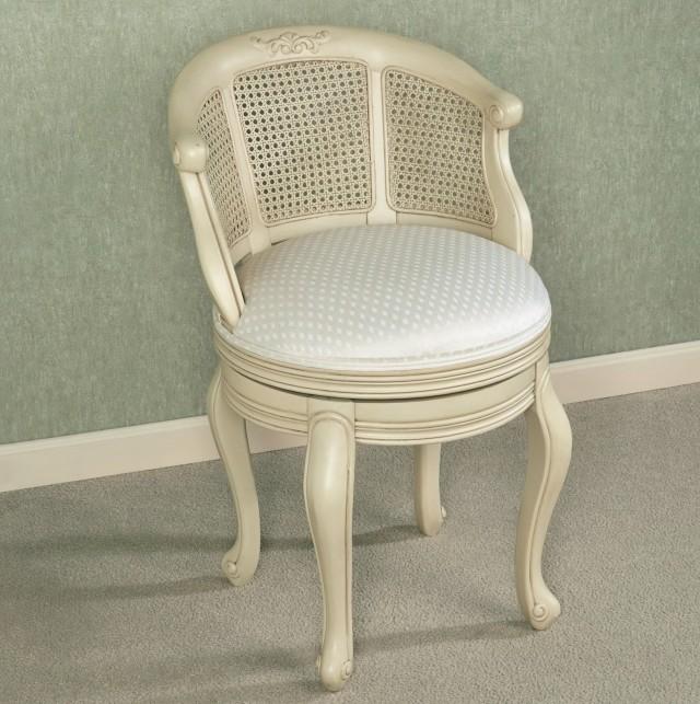 Swivel Vanity Chairs Bathroom Home Design Ideas