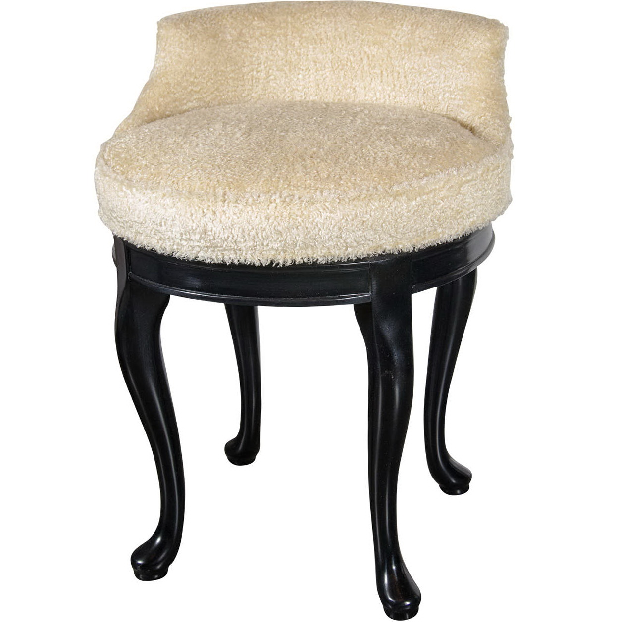 Swivel Vanity Stool With Back Home Design Ideas