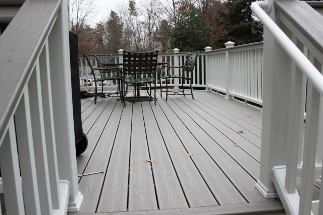 Trex Porch Flooring Installation