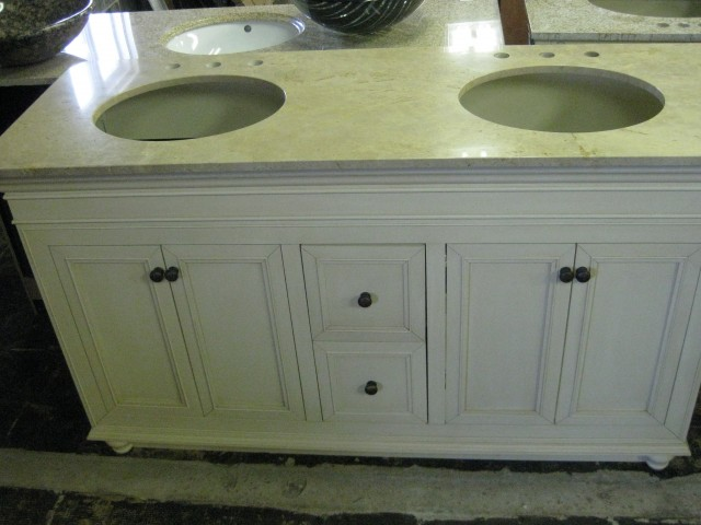 Two Sink Vanity Unit