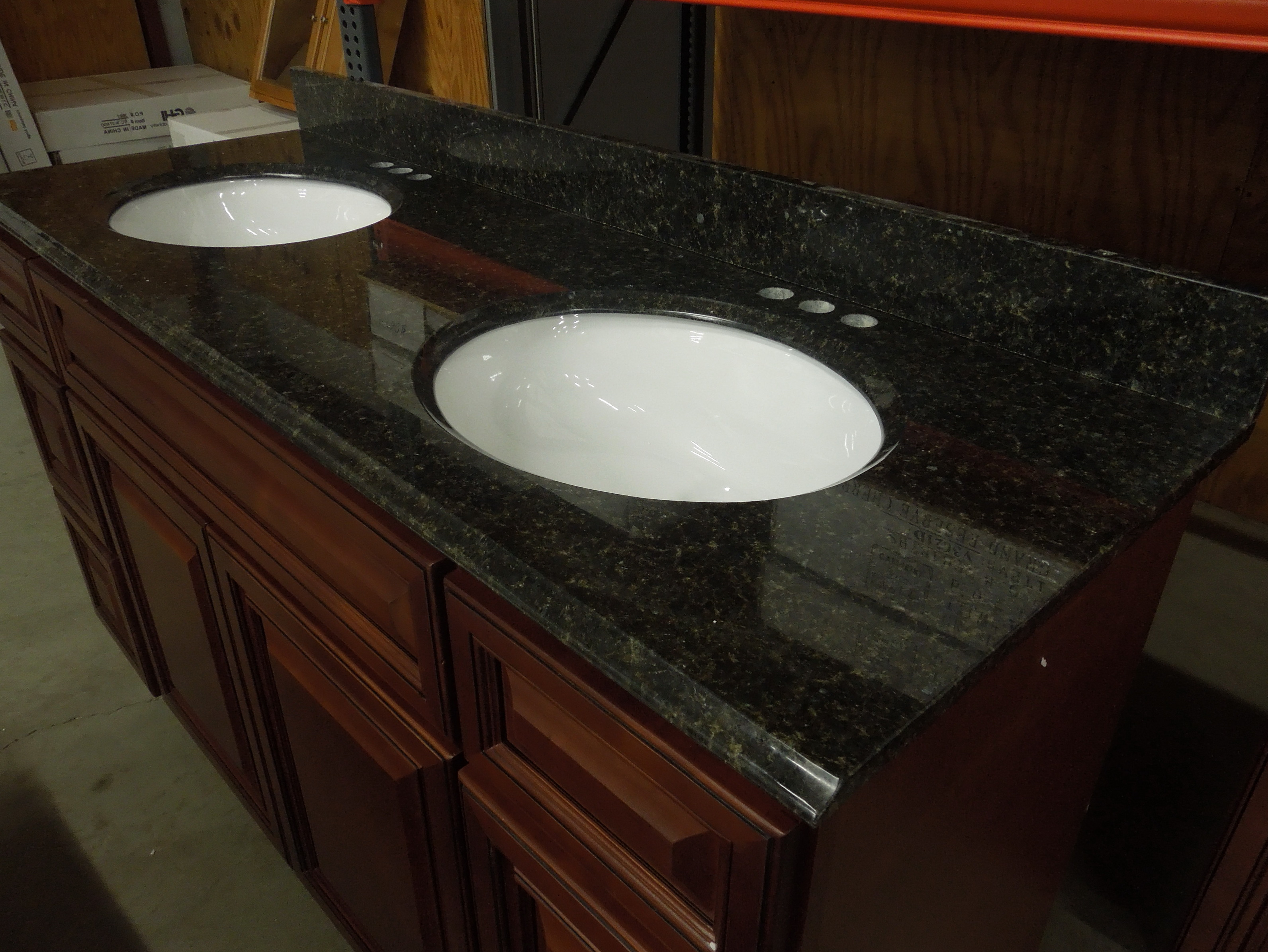 Uba Tuba Granite Bathroom Vanity Home Design Ideas