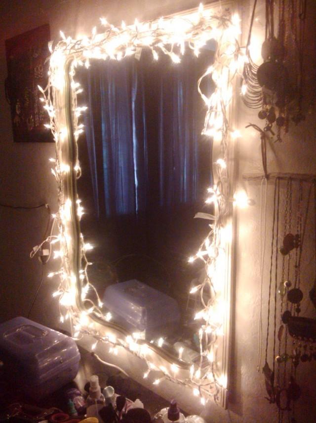 Vanity Light Mirror Diy