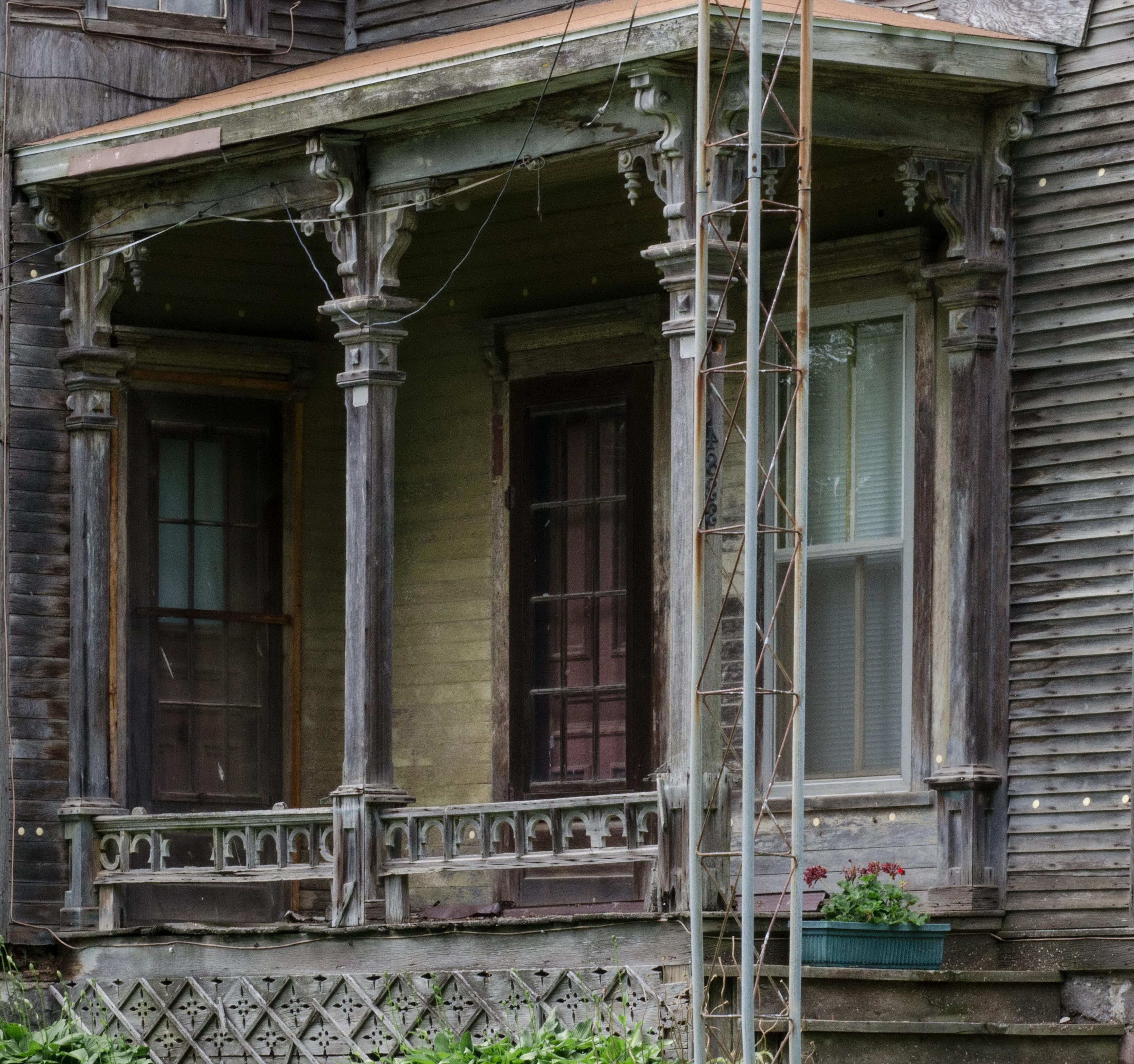 Victorian Front Porch Columns Home Design Ideas