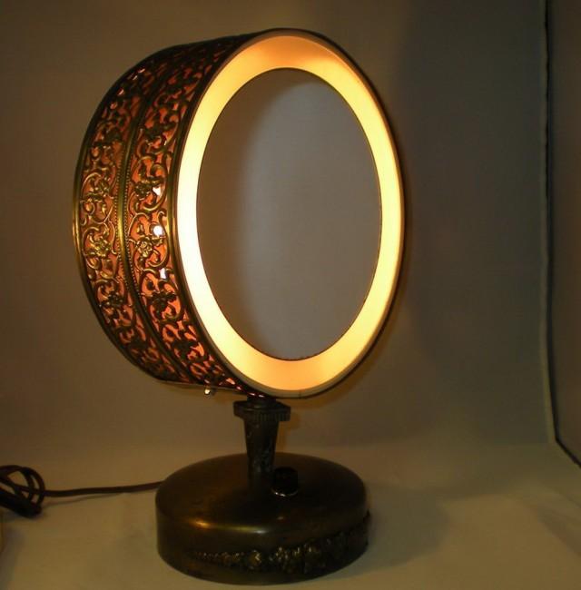 Vintage Vanity Mirror With Lights