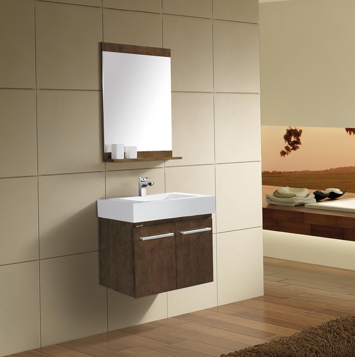 Bathroom wall mounted cabinet
