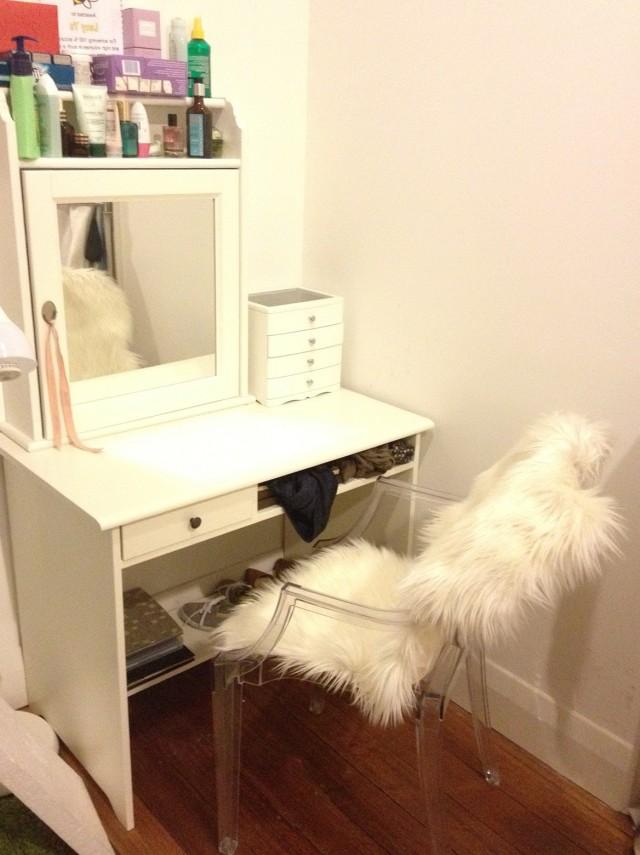 White Vanity Desk Ikea