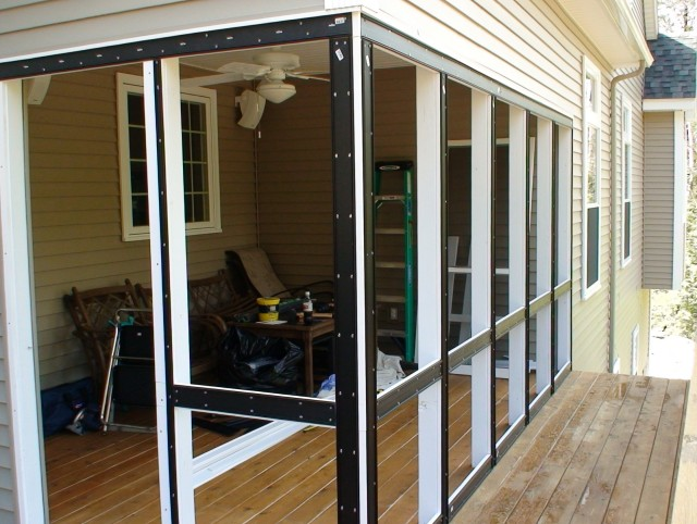 Wood Screen Panels For Porches