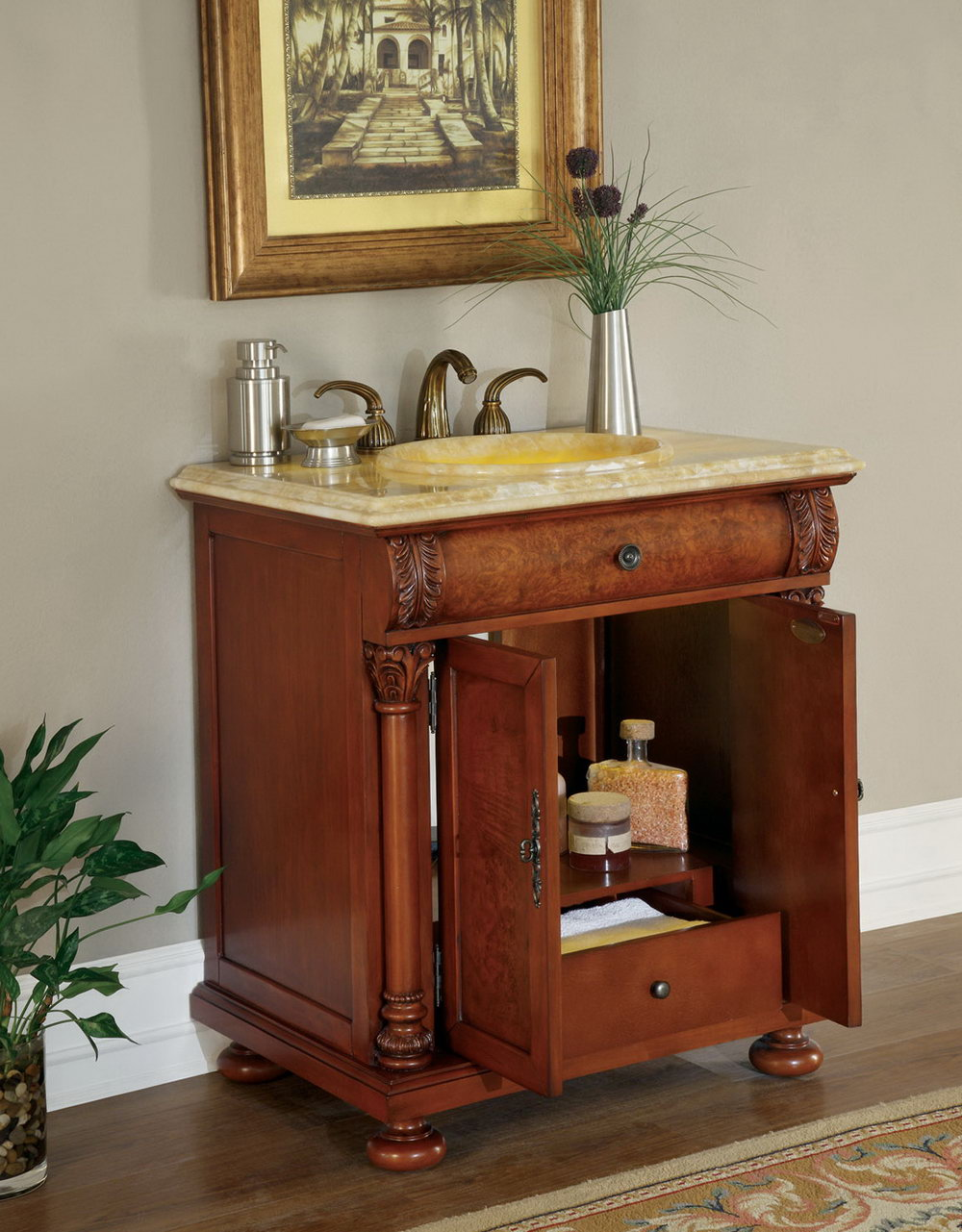 32 Inch Vanity With Sink