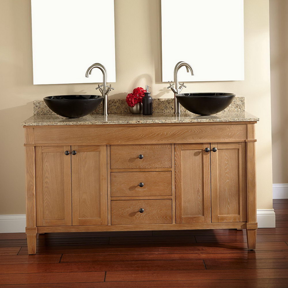 60 Double Sink Bathroom Vanity Tops