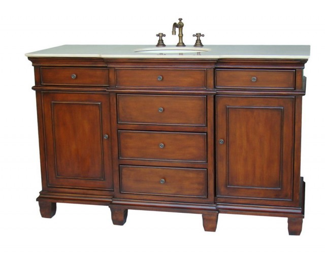 60 Inch Vanity Single Sink Canada