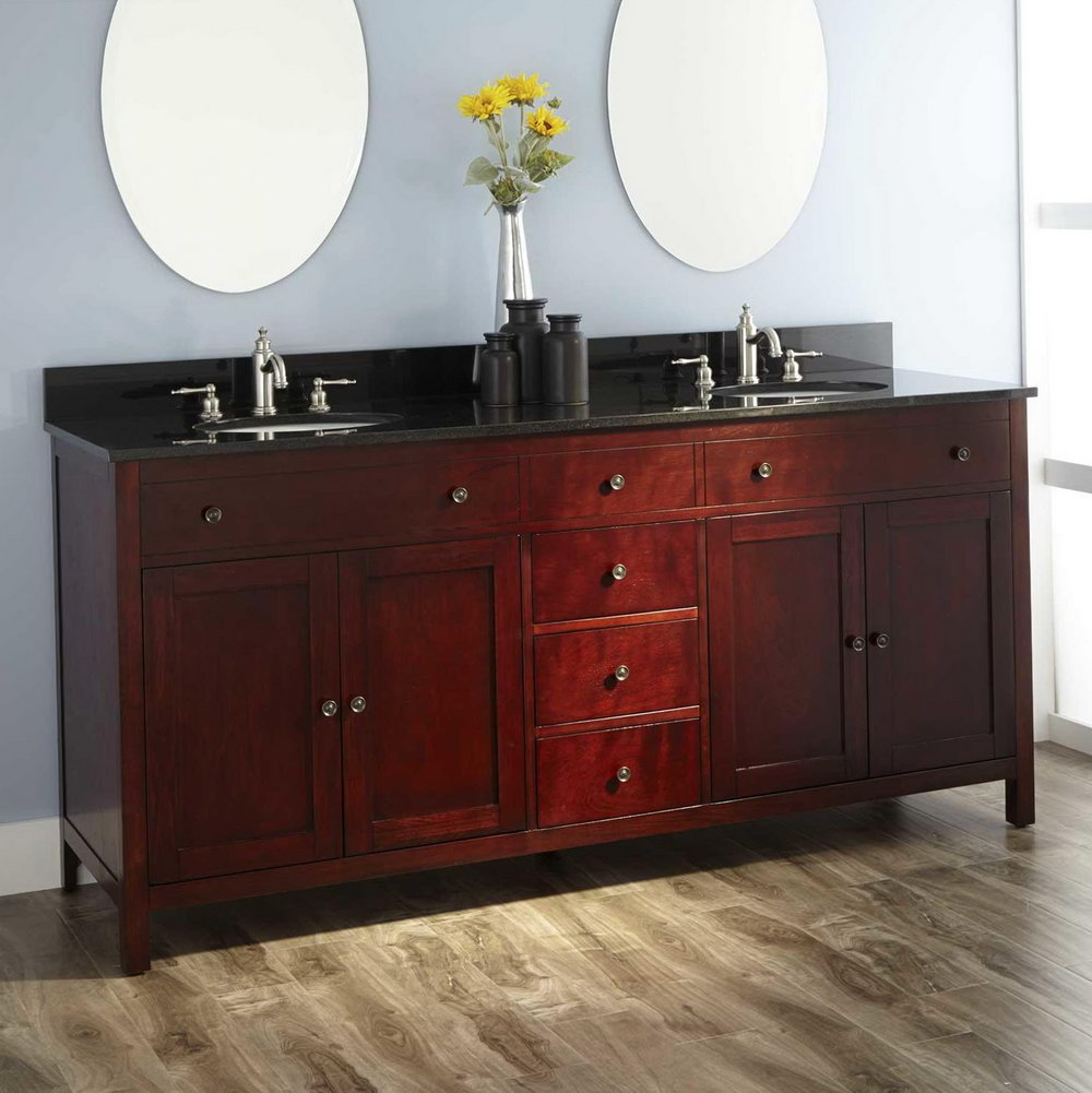 72 Bathroom Vanity Double Sink Home Depot