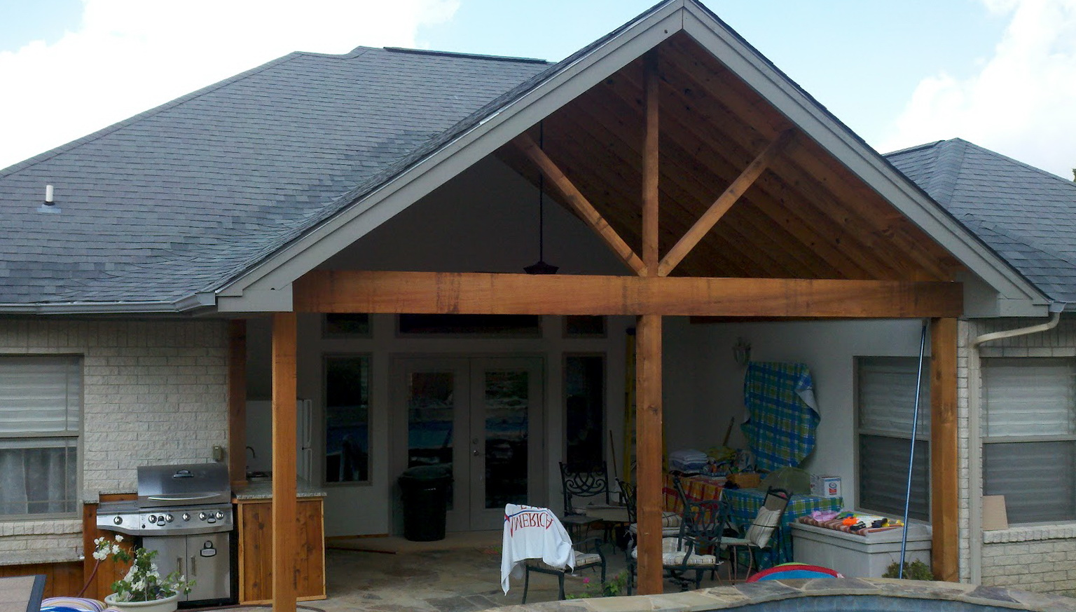 Adding Covered Porch To House Home Design Ideas