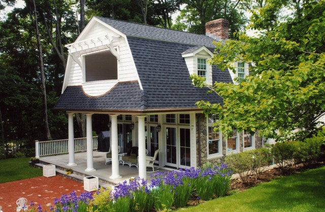Adding Porch To Colonial House