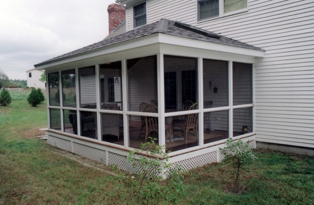 Adding Screened Porch To House