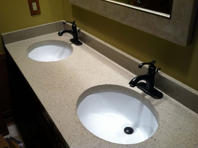 Bath Vanity Tops Double Sink