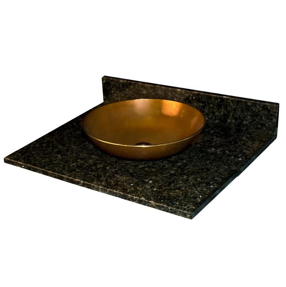 Black Granite Bathroom Vanity Tops