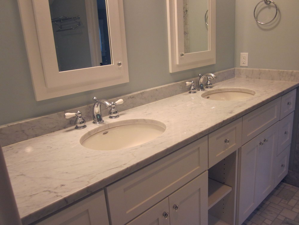 Carrera Marble Vanity Top Care
