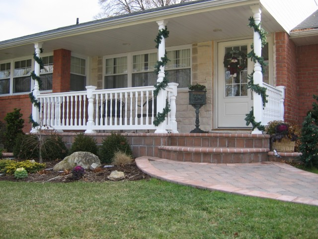 Front porch addition colonial home design ideas for Colonial front porch ideas