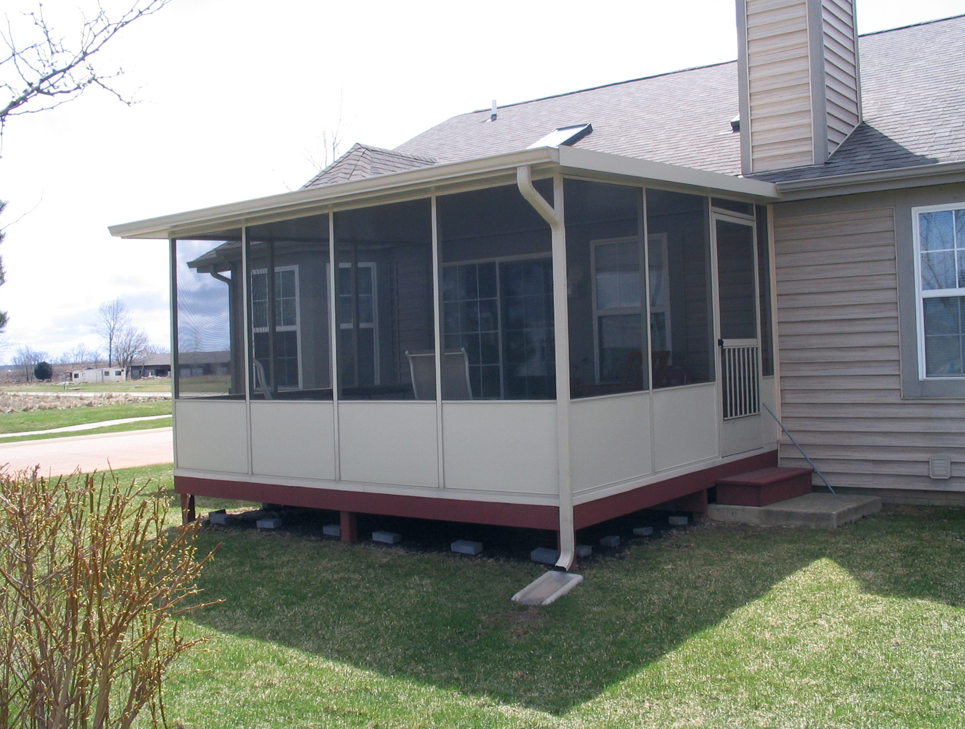 Convert Deck To Screened Porch Cost Mycoffeepot Org