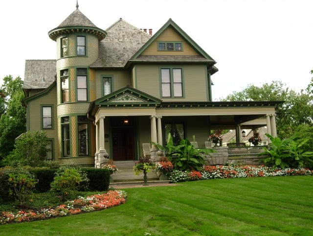 Country Style Home With Wrap Around Porch