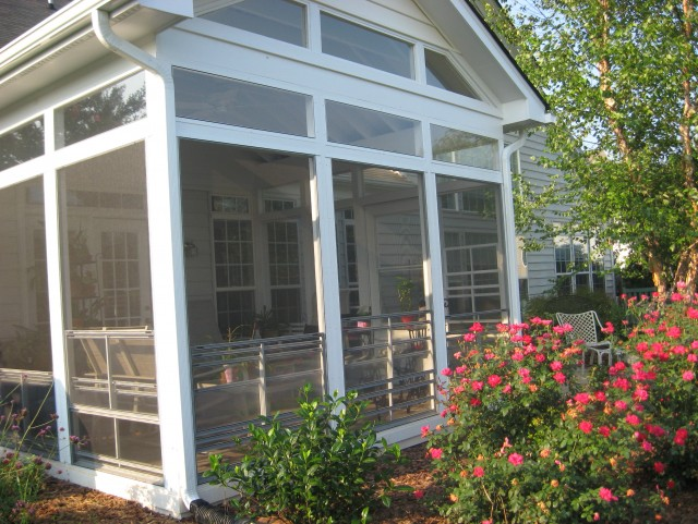 Enclosing A Screened Porch For Winter