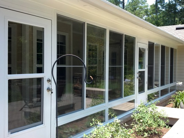 Enclosing A Screened Porch With Plexiglass