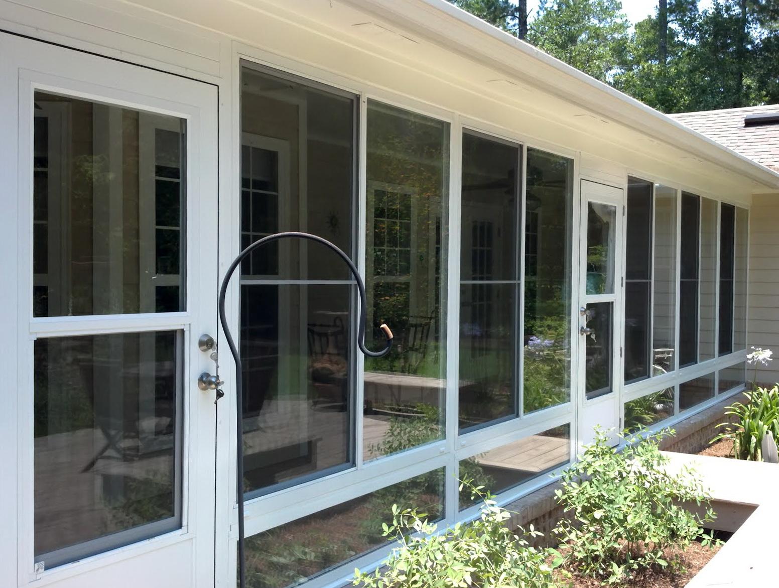 Enclosing A Screened Porch With Plexiglass Home Design Ideas