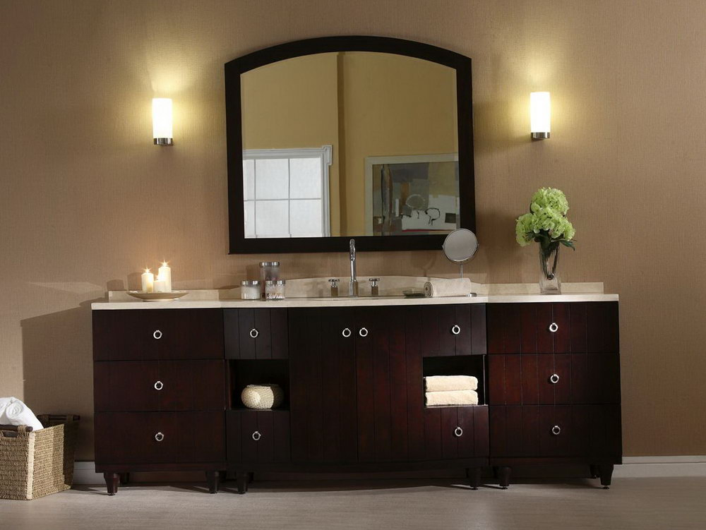 Height Of Bathroom Vanity Light Fixture
