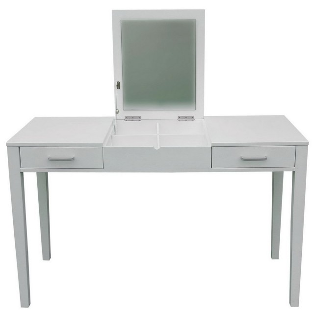 Makeup Vanity With Drawers And Mirror