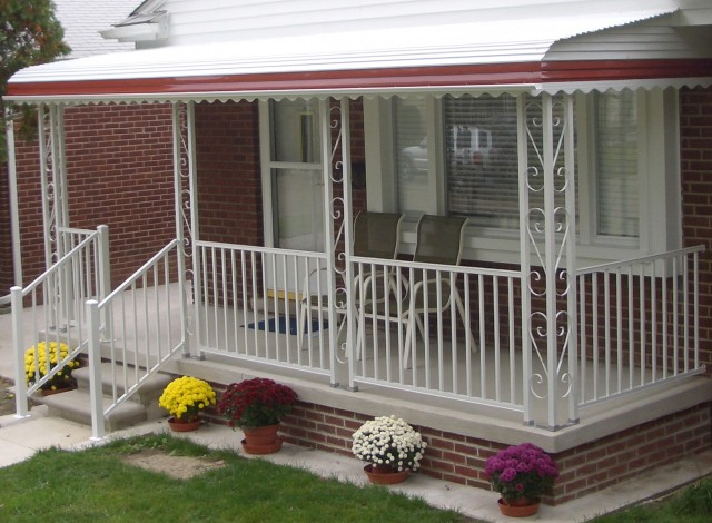 Metal Awnings For Front Porch
