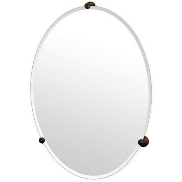 Oval Vanity Mirror On Stand